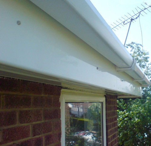 Gutter Fascia Soffit Cleaning in Wysall, Nottingham, Derby, Newark, Mansfield, Loughborough, Melton Mowbray and Oakham